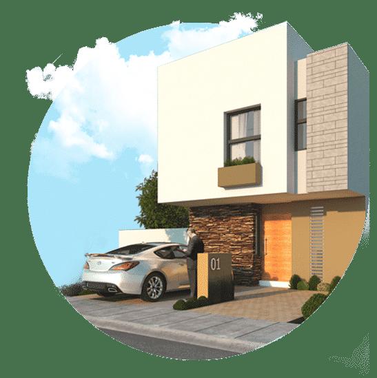 Foto de casas en venta en El Refugio, Querétaro, Alanna Residencial, modelo Galia.